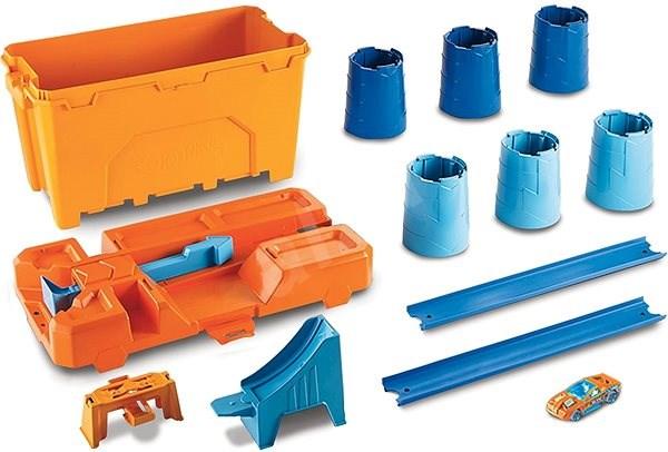Hot Wheels Track builder barel box - Herní set