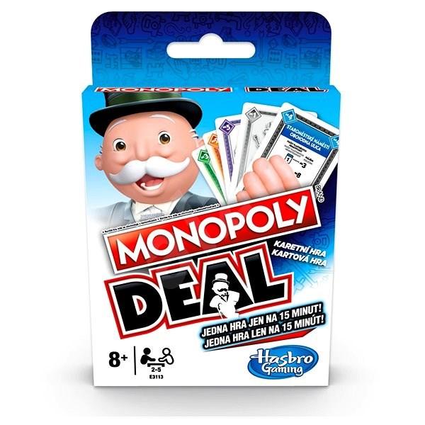 Monopoly Deal CZ, SK - Karetní hra
