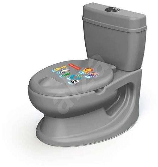 Dolu Dětská toaleta Fisher Price - šedá - Nočník