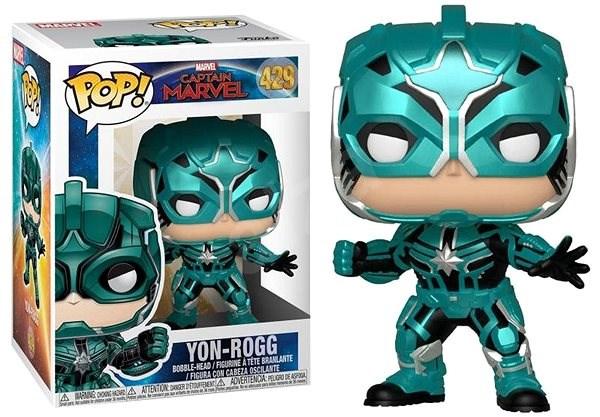Funko Pop Marvel: Captain Marvel - Pop 4 - Figurka