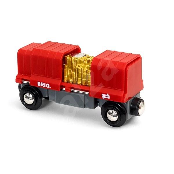 Brio World 33938 Hrací set náklad zlata - Vláčkodráha