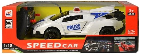 Auto policejní  - RC auto na dálkové ovládání