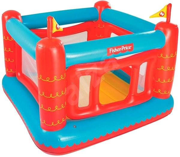 Bestway Hrací centrum Fisher Price - Skákací hrad