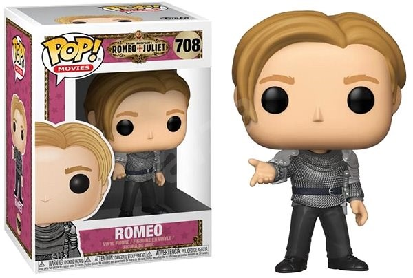 Funko Pop Movies: Romeo & Juliet - Romeo w/Chase - Figure