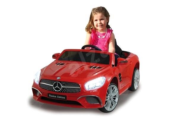 Jamara Ride-on Mercedes-Benz SL 400 - červené  - Dětské elektrické auto
