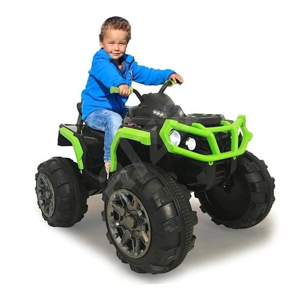 Jamara Ride-on Quad Protector - zelená  - Dětské elektrické auto