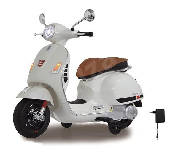 Jamara Ride-on Vespa - bílá  - Dětská elektrická motorka