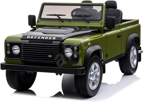Land Rover Defender, zelené - Dětské elektrické auto