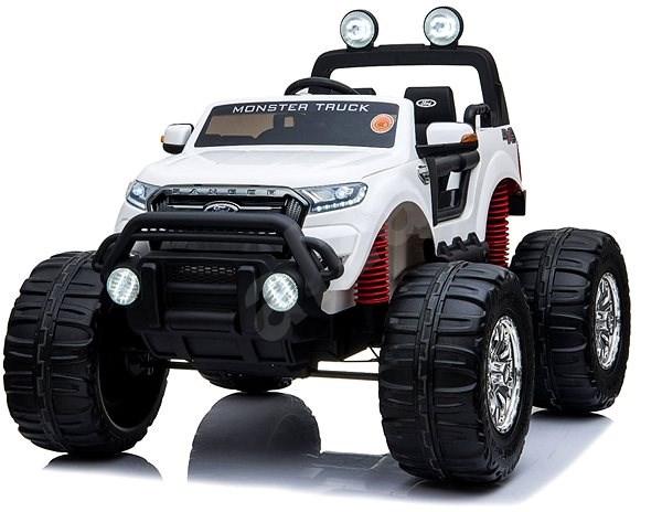Ford Ranger Monster Truck 4X4, bílé - Dětské elektrické auto