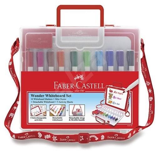 Faber-Castell Whiteboard Marker Slim, 10 barev - Popisovač
