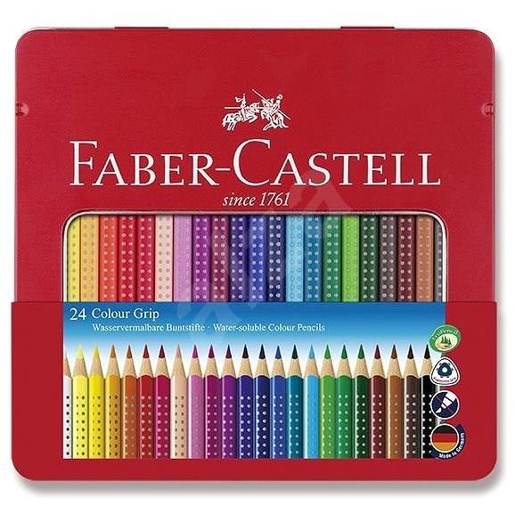 Faber-Castell Grip 2001, 24 barev - Pastelky