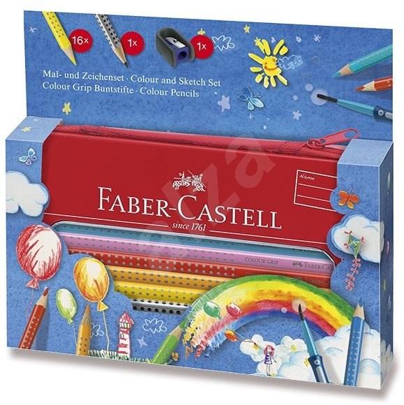 Faber-Castell Grip 2001, 16 barev - Pastelky