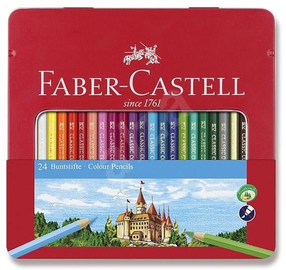 Faber-Castell, 24 barev - Pastelky