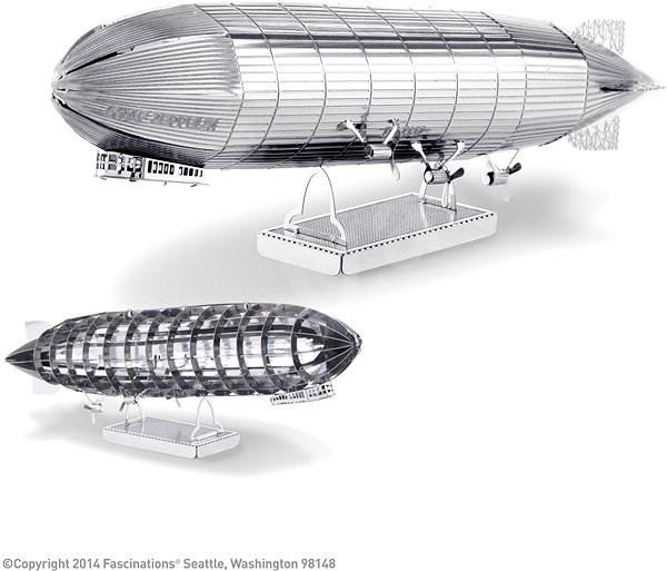 Metal Earth Graf Zeppelin - Kovový model