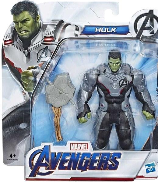 Avengers 15cm Deluxe figurka Hulk - Figurka