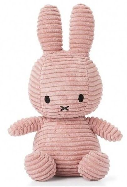 Miffy Corduroy dark pink 24cm - Plyšák