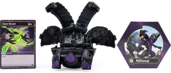 Bakugan Velký deka bojovník - černý - Herní set