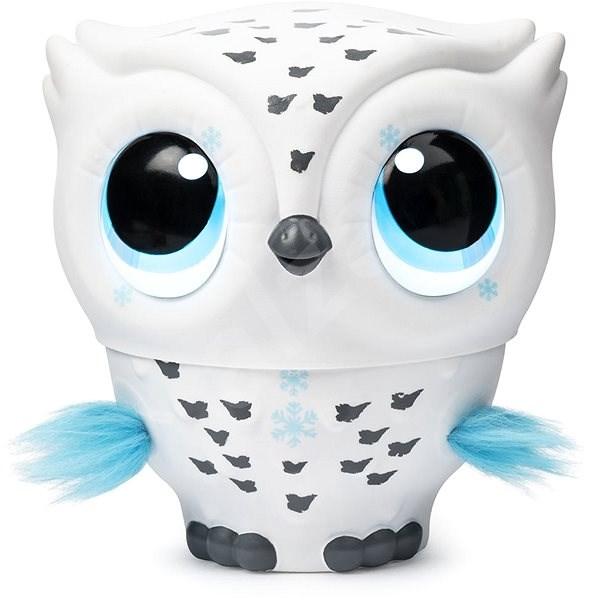Owleez Létající sova bílá - Interaktivní hračka