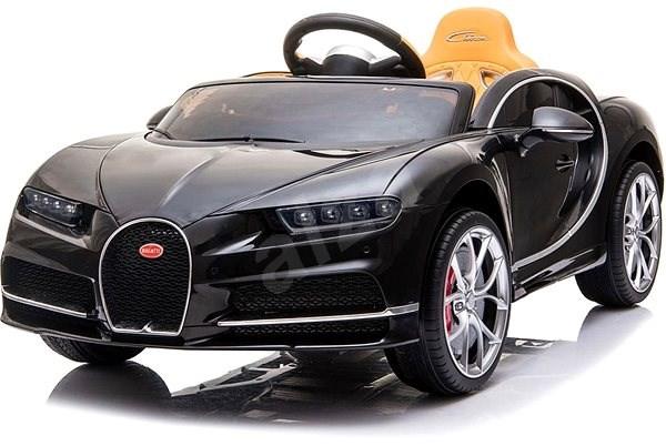 Bugatti Chiron - černé - Dětské elektrické auto