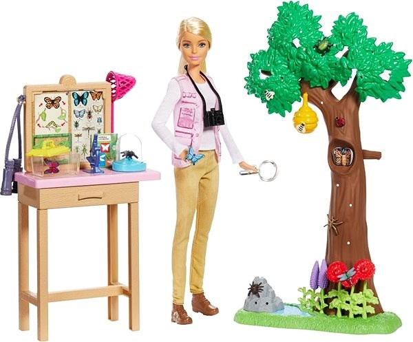 Barbie Entomoložka National Geographic - Panenka