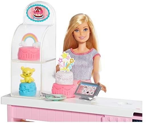 Barbie Cukrářství herní set - Panenka