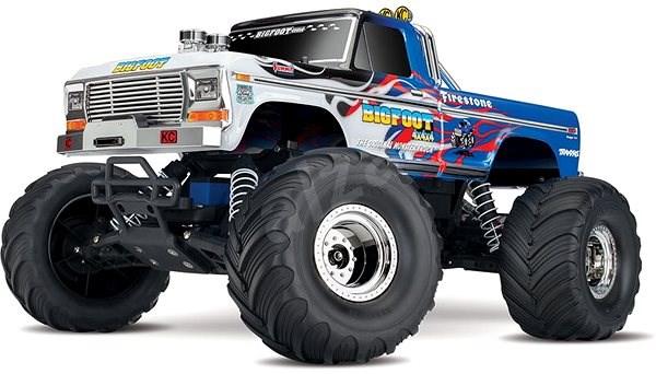 Traxxas Big Foot 1:10 Classic TQ Flames - RC auto na dálkové ovládání