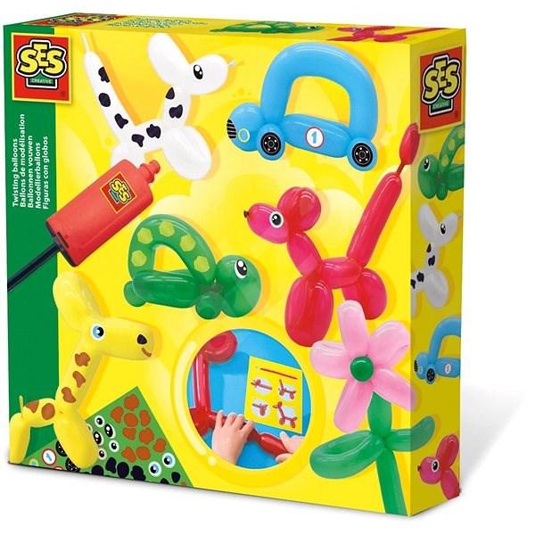 SES Veselé tvarovací balonky - Kreativní sada