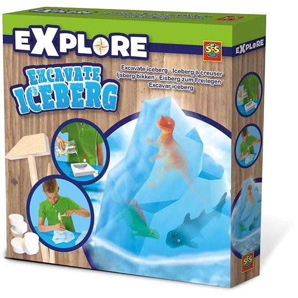 SES Vykopávky z ledovce - Kreativní sada