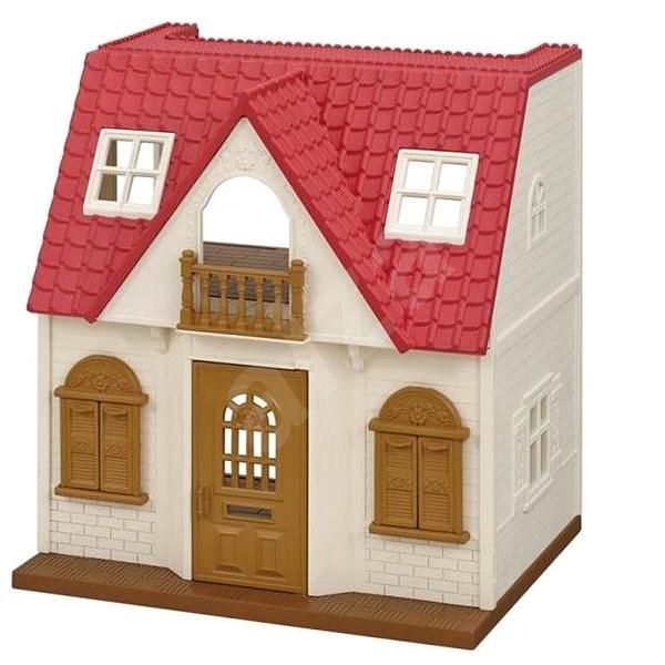Sylvanian Families Základní dům s červenou střechou - Herní set
