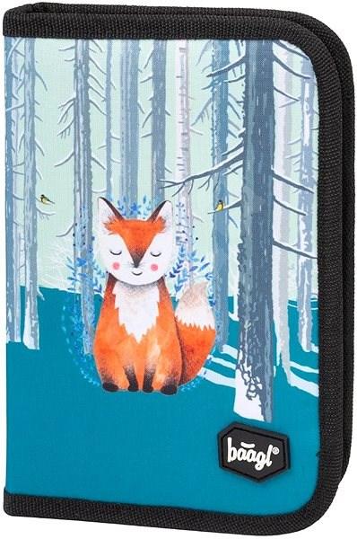 Školní penál klasik Foxie - Penál