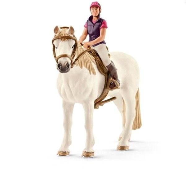 Schleich 42359 Rekreační jezdkyně na koni - Figurky
