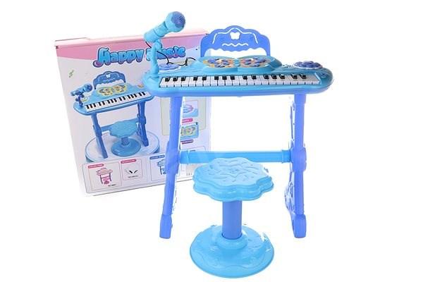 Piánko modré - Hudební hračka