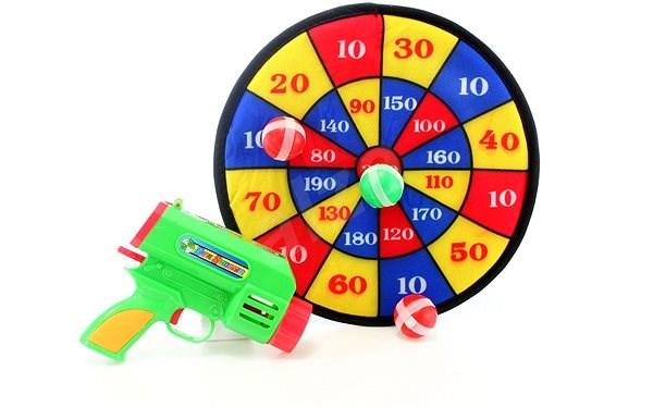 Terč s pistolkou - Herní set