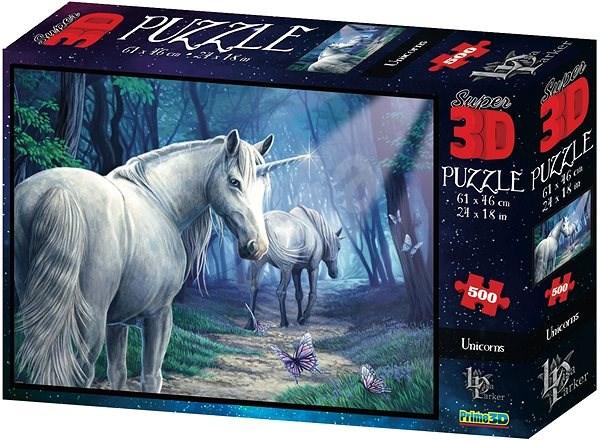 Puzzle Jednorožec 3D - Puzzle