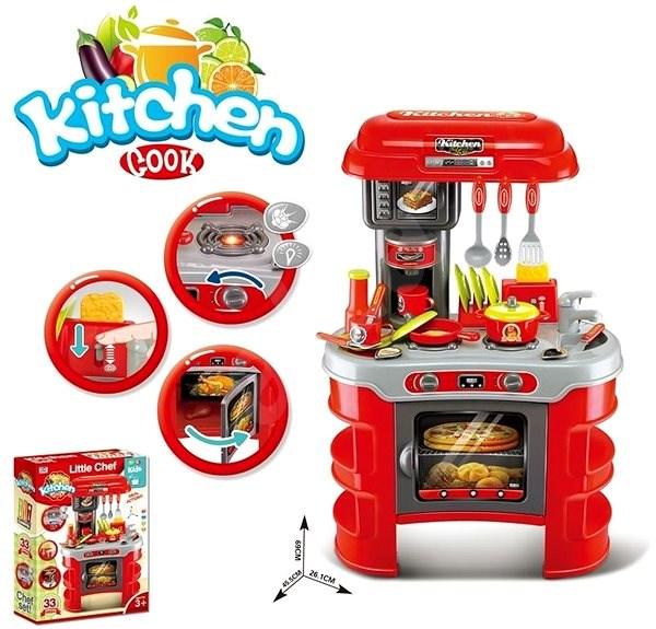 Kuchyň s příslušentsvím, na baterie - Kuchyňka