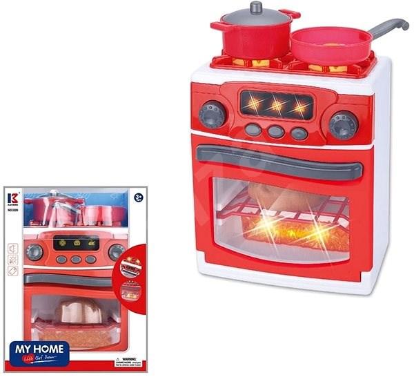 Sporák, na baterie - Kuchyňka