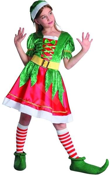 Šaty na karneval - skřítek - Dětský kostým