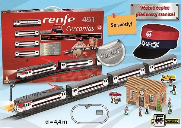 Pequetren Renfe Cercanías 451 - osobní vlak - Vláčkodráha