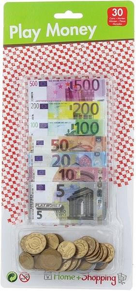 Hrací peníze - Eura - Herní set