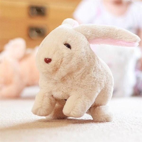 Chodící králíček - Interaktivní hračka