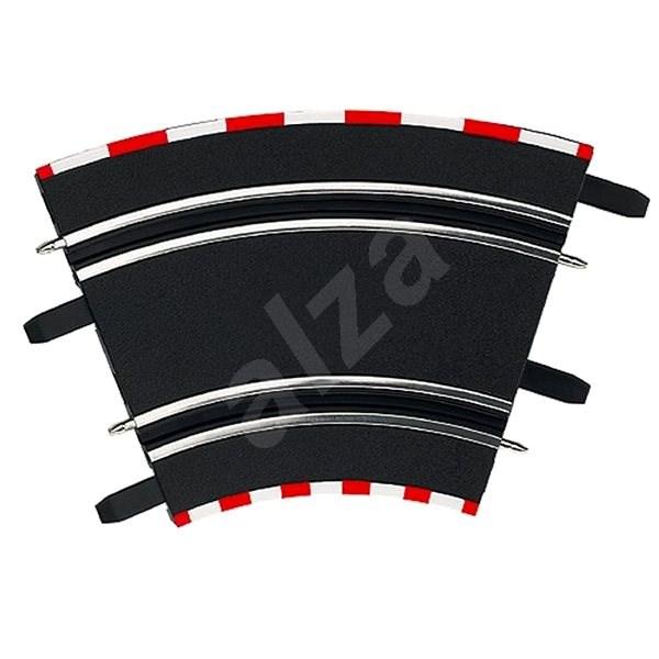 Carrera GO/GO+/D143 - 61612 Klopené zatáčky 1/45 (4ks) - Příslušenství pro autodráhu