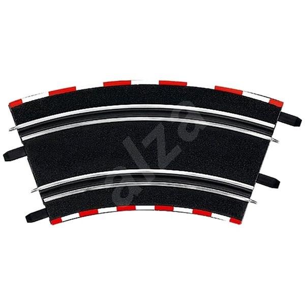 Carrera GO/GO+/D143 - 61646 Klopená zatáčka 2/45 (4ks) - Příslušenství pro autodráhu