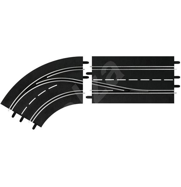 Carrera DIGITAL 132/124 - 30362 Předjíž.do zatáčky (L-vně) - Příslušenství pro autodráhu