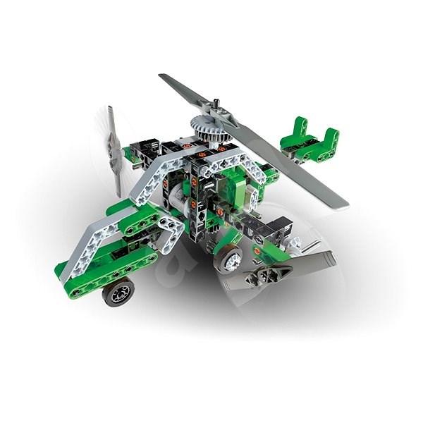 Clementoni Mechanická laboratoř vrtulník a vznášedlo - Kreativní sada