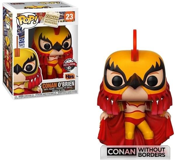 Funko POP TV: Conan as Luchador - Figurka
