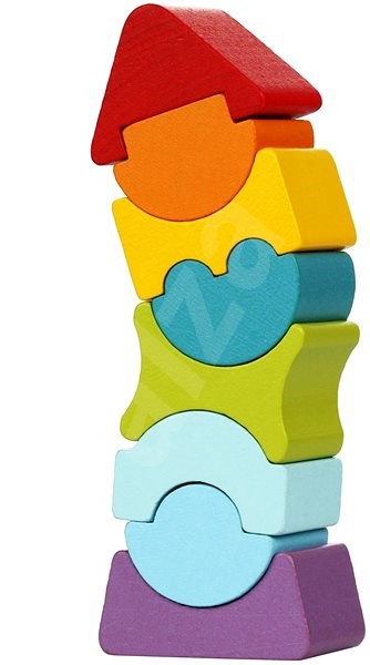 Cubika 12718 Balanční věž VIII - Dřevěná hračka