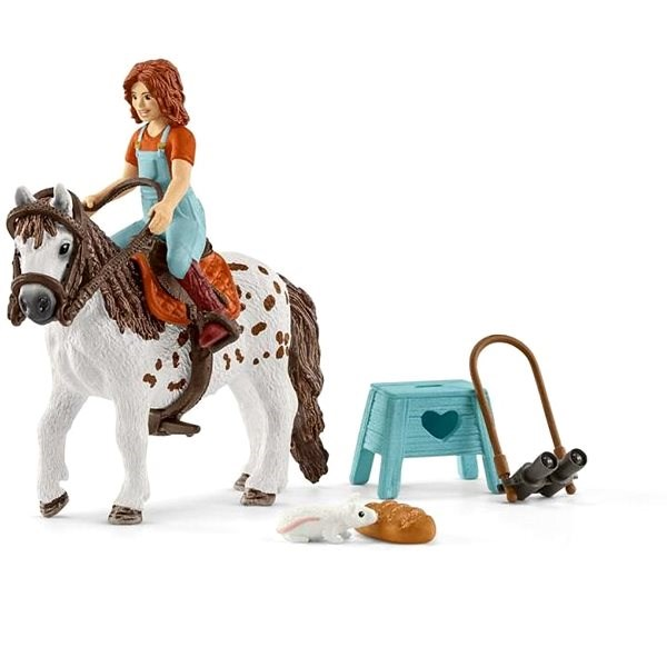 Schleich 42518 Horse Club Mia a Spotty - Herní set