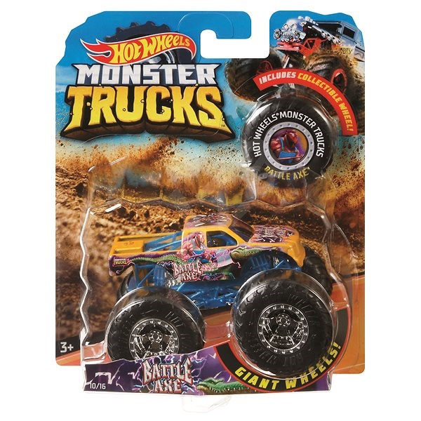 Hot Wheels Monster trucks kaskadérské kousky - Auto