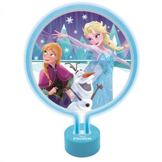 Lexibook Frozen Neonová lampa - Stolní lampa