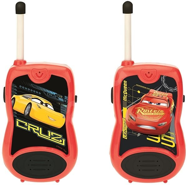 Lexibook Cars 3 Vysílačky – 100m  - Vysílačky